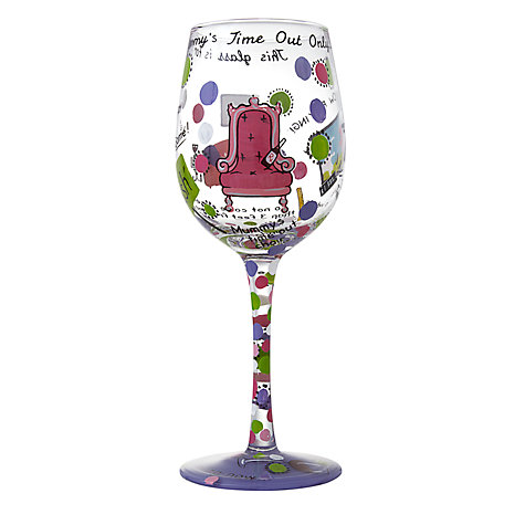Buy Lolita Mummy's Time Out Wine Glass Online at johnlewis.com