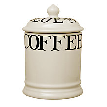 Buy Emma Bridgewater Black Toast Coffee Storage Jar Online at johnlewis.com