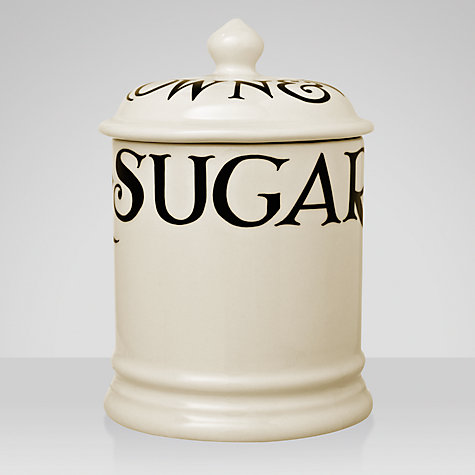 Buy Emma Bridgewater Black Toast Sugar Storage Jar Online at johnlewis.com