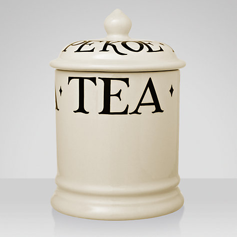 Buy Emma Bridgewater Black Toast Tea Storage Jar Online at johnlewis.com