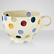 Buy Emma Bridgewater Polka Dots Breakfast Cup Online at johnlewis.com