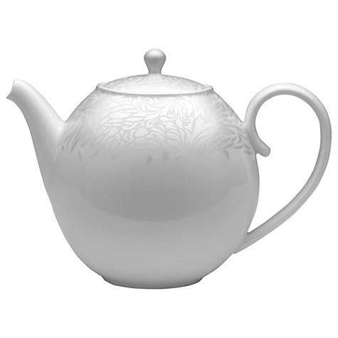 Buy Denby Monsoon Lucille Teapot, 1.25L, Silver Online at johnlewis.com
