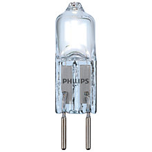Buy Philips 7W G4 Halogen Bulb, Clear Online at johnlewis.com