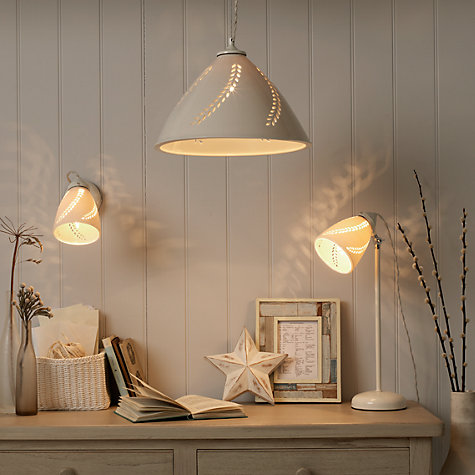 Buy Sophie Conran Pierced Pendant Ceiling Light Online at johnlewis.com