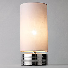 Buy John Lewis Celia Table Lamp, Chrome Online at johnlewis.com