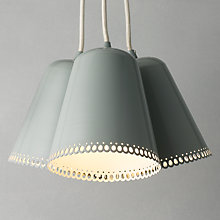 Buy John Lewis Harper Cluster Light, Mineral, 3 Light Online at johnlewis.com