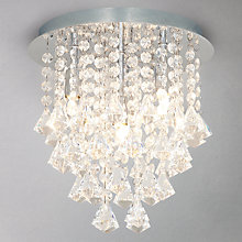 Buy John Lewis Katelyn Semi Flush Light Online at johnlewis.com