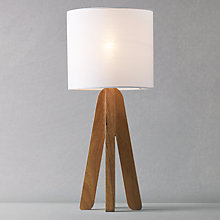 Buy John Lewis Kylie Table Lamp, White Online at johnlewis.com