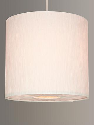 John Lewis & Partners Small Libby Easy-to-Fit Ceiling Shade, Cream