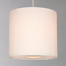 Buy John Lewis Easy-to-fit Libby Pendant, Cream, Small Online at johnlewis.com