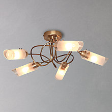 Buy John Lewis Limbo Semi Flush Ceiling Light, 5 Light Online at johnlewis.com