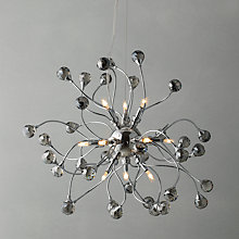 Buy John Lewis Nebula Ceiling Light, Smoke, 12 Light Online at johnlewis.com