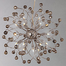 Buy John Lewis Nebula Ceiling Light, Smoke, Large, 24 light Online at johnlewis.com