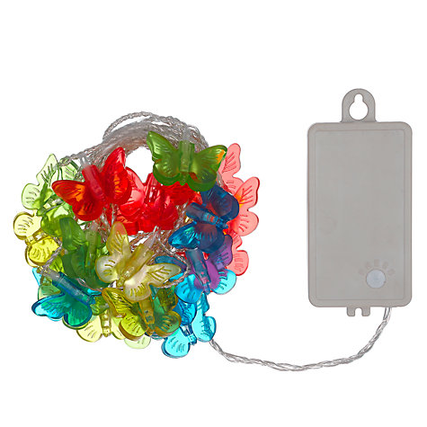 Buy John Lewis Butterfly Fairy Lights Online at johnlewis.com