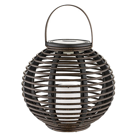 Buy John Lewis Kishi Solar Outdoor Lantern Online at johnlewis.com