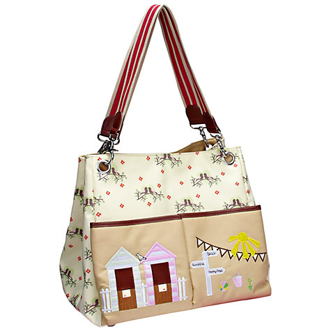 Buy Pink Lining Queensdale Tote Changing Bag, Lovebirds Online at johnlewis.com