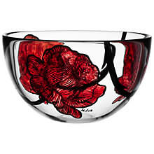 Buy Kosta Boda Tattoo Bowl, H13cm Online at johnlewis.com
