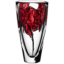 Buy Kosta Boda Tattoo Barrel Vase, H25.5cm Online at johnlewis.com
