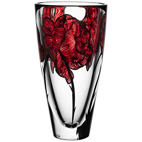 Buy Kosta Boda Tattoo Vase, H25.5cm Online at johnlewis.com