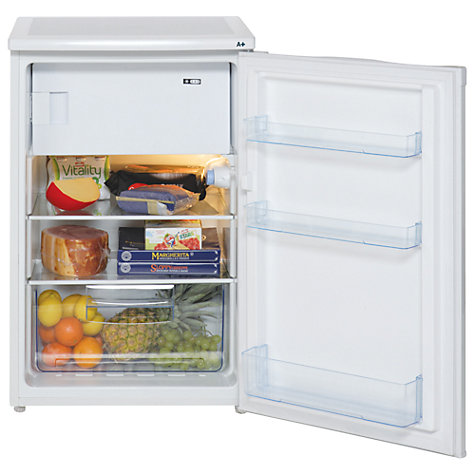 Buy Lec R5511W Fridge with Freezer Compartment, A+ Energy Rating, 55cm Wide, White Online at johnlewis.com