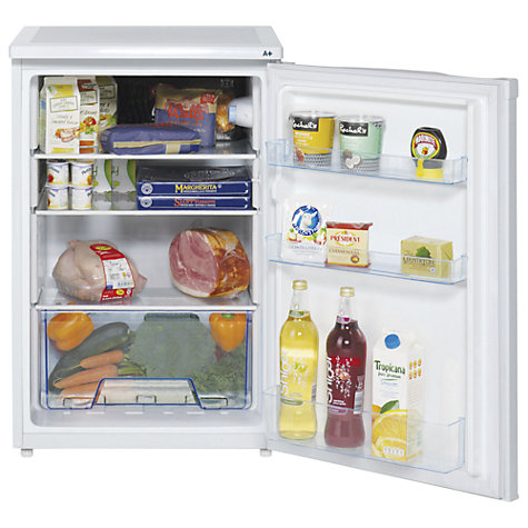 Buy Lec L5511W Larder Fridge, A+ Energy Rating, 55cm Wide, White Online at johnlewis.com