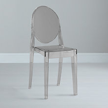 Buy Philippe Starck for Kartell Victoria Ghost Chair Online at johnlewis.com