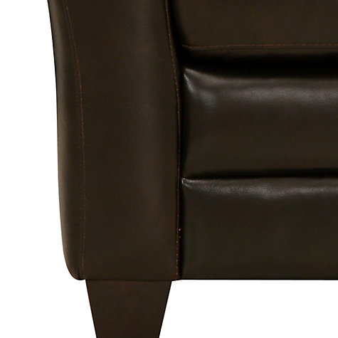 Buy John Lewis Kent Small Sofa, Brown Online at johnlewis.com