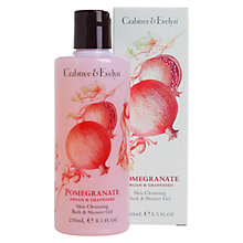 Buy Crabtree & Evelyn Pomegranate Skin Cleansing Bath & Shower Gel, 250ml Online at johnlewis.com