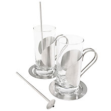 Buy Sagaform Irish Coffee Set Online at johnlewis.com