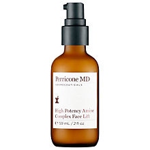 Buy Perricone MD High Potency Amine Complex Face Lift, 59ml Online at johnlewis.com