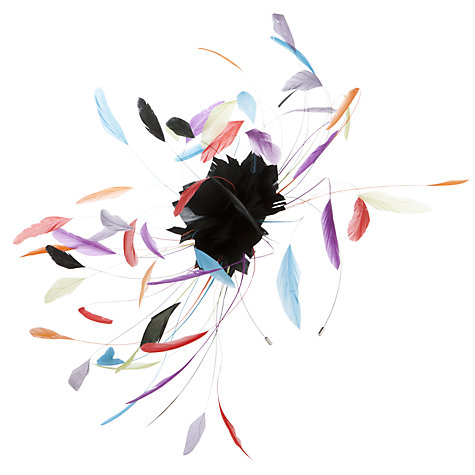 Buy John Lewis Emma Starburst Feather Fascinator Online at johnlewis.com