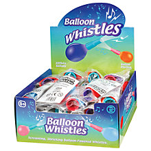 Buy Balloon Whistle, Assorted Online at johnlewis.com