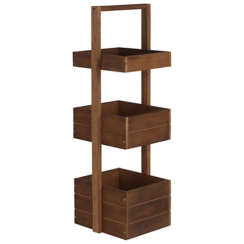 Buy John Lewis Jakarta Three Tier Bathroom Caddy Online at johnlewis.com