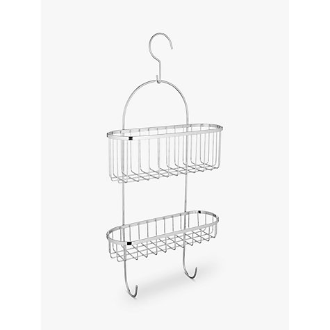 Buy John Lewis Shower Caddy With Hooks Online at johnlewis.com