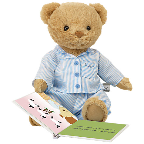 Buy Silver Cross Bentham Bear With Book Online at johnlewis.com