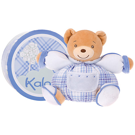Buy Kaloo Small Chubby Bear, Blue Online at johnlewis.com