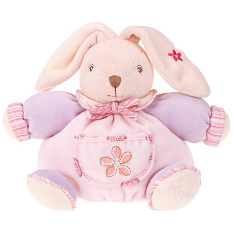 Buy Kaloo Small Chubby Rabbit, Pink Online at johnlewis.com