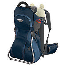 Buy Vaude Jolly Comfort Child Carrier, Navy Online at johnlewis.com