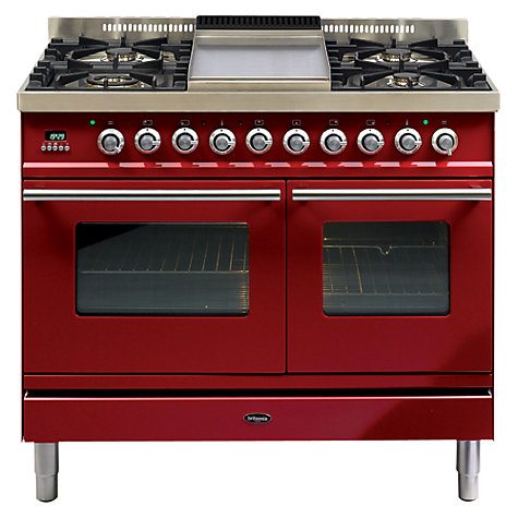 Buy Britannia SI-10TC-SLX-RED Sigma Dual Fuel Range Cooker, Velvet Red Online at johnlewis.com