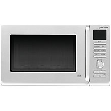 Buy John Lewis JLMWCM006 Combination Microwave with Grill, Stainless Steel Online at johnlewis.com