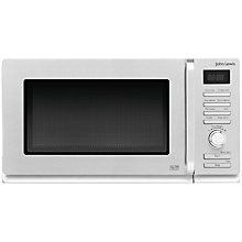 Buy John Lewis JLMWGR005 Microwave with Grill, Stainless Steel Online at johnlewis.com