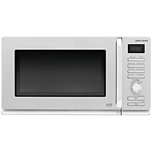 Buy John Lewis JLMWSL004 Solo Microwave, Stainless Steel Online at johnlewis.com