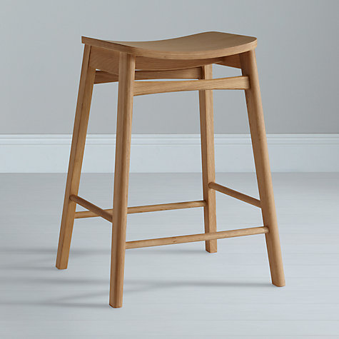 Buy House by John Lewis Ken Bar Stool, Oak Online at johnlewis.com