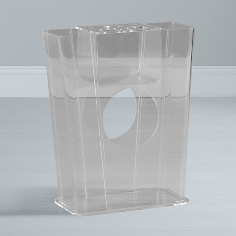 Buy John Lewis Ice 5 Umbrella Stand, Clear Online at johnlewis.com