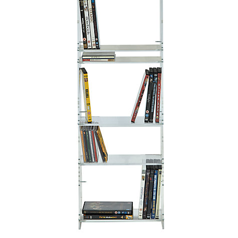 Buy John Lewis Ice CD/DVD Rack, Clear Online at johnlewis.com