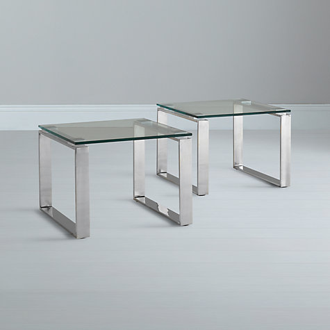 Buy John Lewis Frost Occasional Tables, Pair Online at johnlewis.com