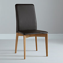 Buy Case Savill Dining Chair, Leather Seat Online at johnlewis.com