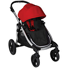 Buy Baby Jogger City Select Pushchair, Ruby Online at johnlewis.com
