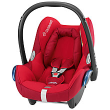 Buy Maxi-Cosi CabrioFix Infant Carrier, Intense Red Online at johnlewis.com