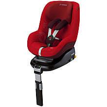 Buy Maxi-Cosi Pearl Car Seat, Intense Red Online at johnlewis.com